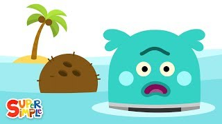 The Bumble Nums Make Far Out Floating Coconut Juice | Cartoon For Kids