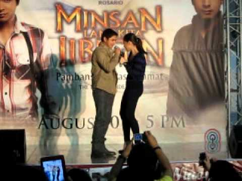 "COCO and MAJA singing ""Dahil Ikaw"" @ SM Rosario"