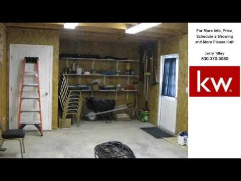 1253 Dominion Road, Junction, TX Presented by Jerry Tilley.