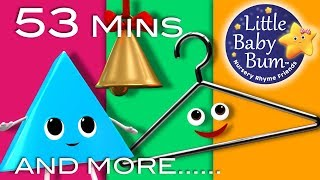 Triangle Song   Plus Lots More Nursery Rhymes   53 Minutes Compilation from LittleBabyBum!