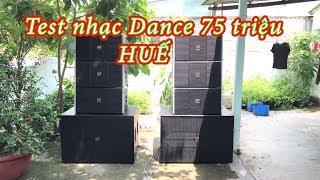 Test nhạc dance trên bộ loa array TKT Sound 75 triệu như thế nào/0902.687898
