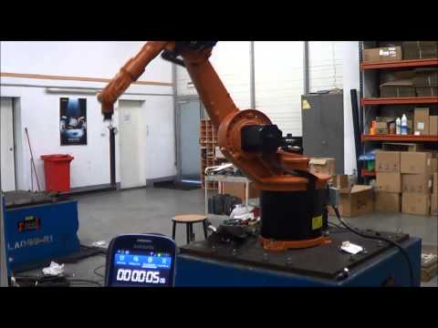 Kuka KR6 industrial robot – cycle time – Eurobots