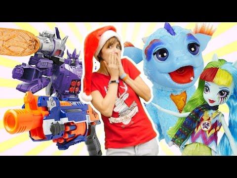 Новогодний #ЧЕЛЛЕНДЖ подарки #КапукиКануки. Секретный склад игрушек Hasbro (Хасбро)
