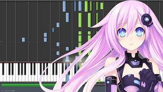 Go Love & Peace - Hyperdimension Neptunia The Animation ED 2 / Mk 2 ED (Piano Synthesia)