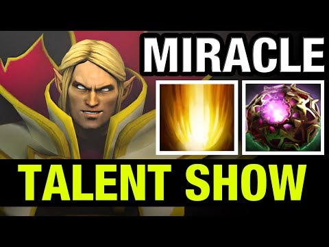 PURE TALENT SHOW !! - MIRACLE INVOKER - Dota 2