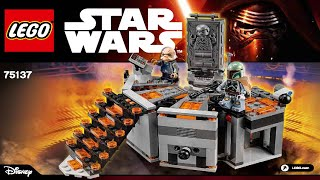 LEGO 75137 Carbon Freezing Chamber Star Wars (Instruction Booklet)