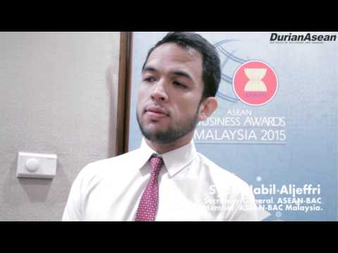ASEAN BUSINESS AWARDS MALAYSIA 2015 : interview Syed Nabil Aljeffri