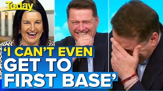 Jacqui Lambie's opinion on the 'bonk ban' has Karl in stitches | Today Show Australia