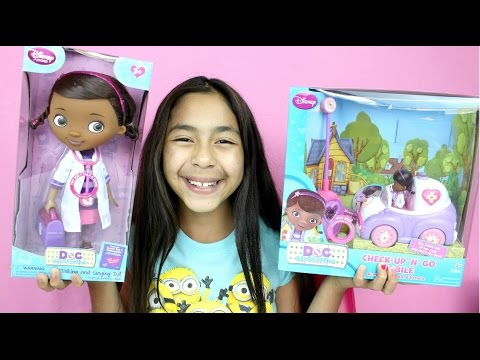 Doc McStuffins Talking N Singing Doll & Check Up and Go Mobile Toys   B2cutecupcakes