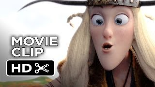 How To Train Your Dragon 2 Movie CLIP - Eret (2014) - Gerard Butler Sequel HD
