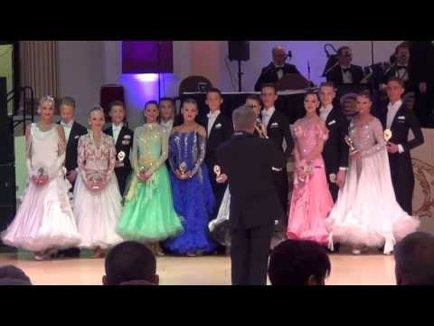 Blackpool 2013  Junior Viennese Waltz Prize Presentation