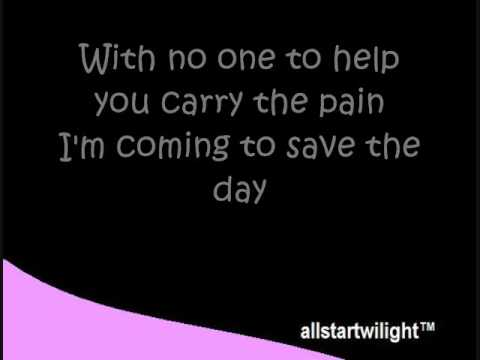 Save The Day- David Archuleta (with Lyrics)