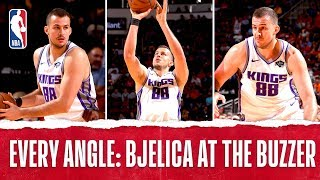 Every Angle: NEMANJA BJELICA WINS IT AT THE BUZZER!!