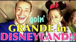 Goin' Grande in DISNEYLAND!!