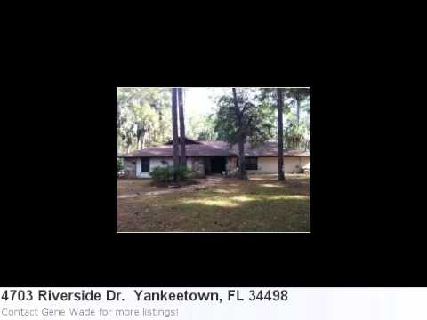 Yankeetown, Fl Real Estate For Sale - 4703 Riverside Dr. . M