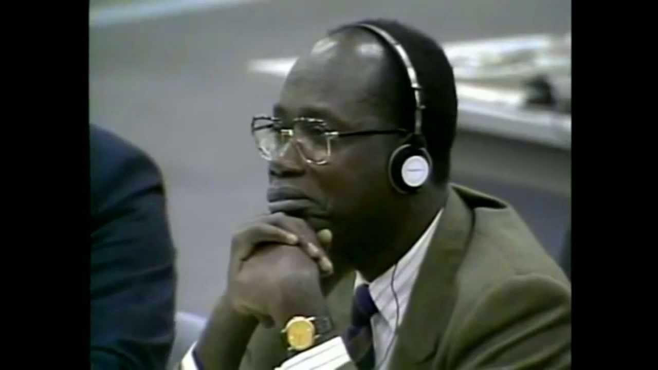 Severn Suzuki habla en la Cumbre de la Tierra de la ONU 1992