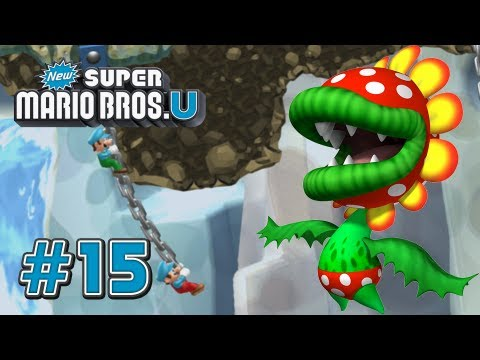 New Super Mario Bros U Wii U - Rock Candy Mines - 100%