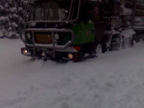 Tatra 8X8 lesní speciál práce v lese,500 m od HVĚZDY JESENÍKY