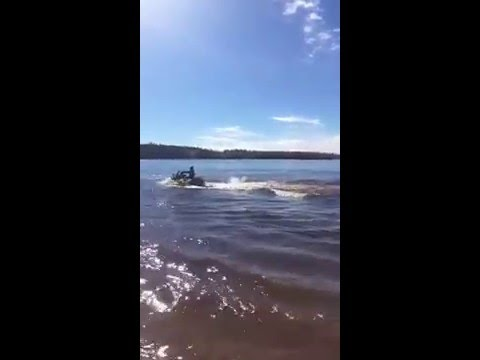 Water Wheelies 700 Mud Pro Arctic Cat ATV