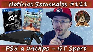 Noticias semanales #111 - PS5 a 240fps - GT Sport - Ni No Kuni 2 - Nintendo Switch - Metal Gear