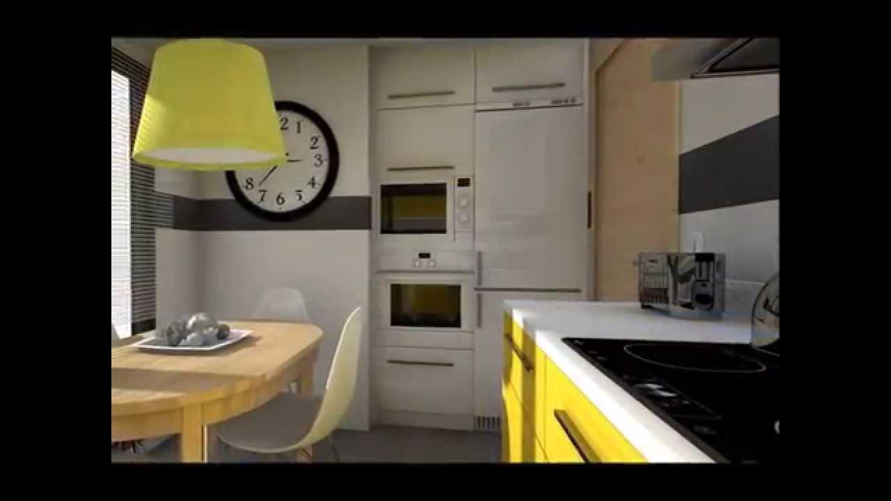 Dise o interior cocinas modernas youtube - Interiores cocinas modernas ...