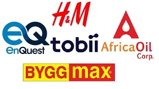 Tobii, Africa Oil, HM, Enquest, Byggmax