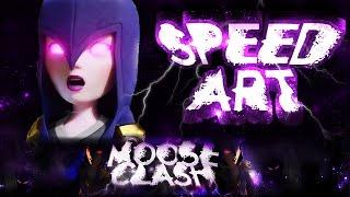 SPEED ART #9 - MOOSE CLASH