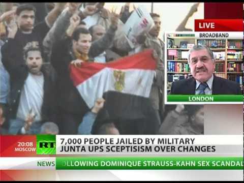 7000 jailed by Egypt junta ups post-Mubarak scepticism