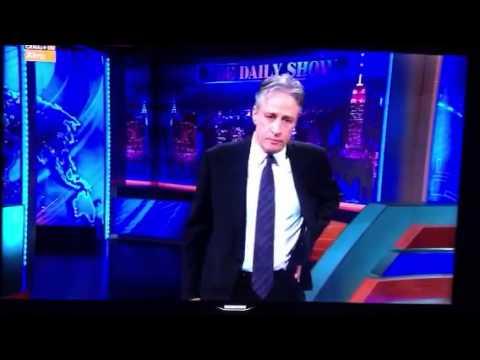 The Daily Show Stewart hablando de Uruguay
