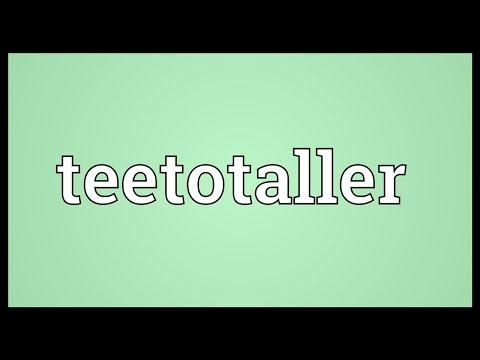 Header of teetotaller