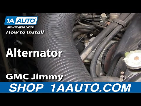 How To Install Replace Alternator Chevy GMC Truck 73-87 1AAuto.com