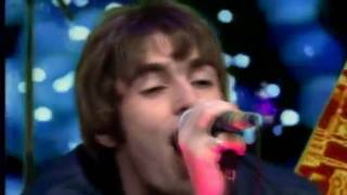 Oasis - Supersonic (First TV Debut) Live The Word, UK - 1994 (HD)