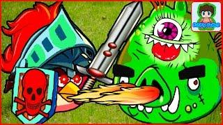 Игра Angry Birds Epic от Фаника злые птички эпик 1
