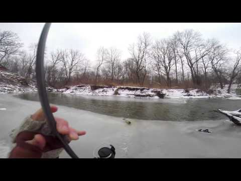Winter Steelhead Fishing January 20 2014