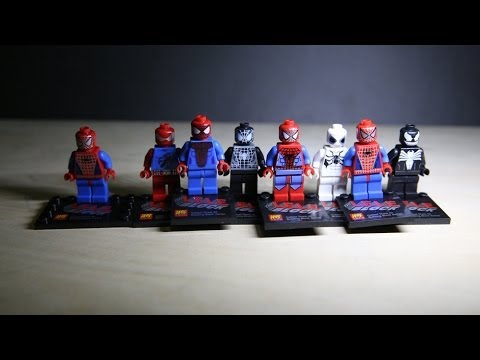 Lego Marvel Superheroes Spiderman Lele Bootleg Review