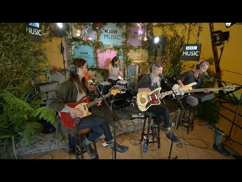 Warpaint cover Ashes To Ashes in the BBC Music Tepee at Glastonbury 2014