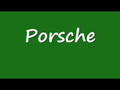 How To Pronounce Audi >> How to Pronounce Porsche correctly! - YouTube