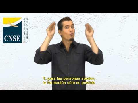 Manifiesto de la CNSE. Día Internacional de las Personas Sordas 2012