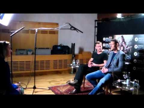Interview with Ken Duken (Thorald) and Tom Hopper (Asbjörn) of NORTHMEN - A VIKING SAGA
