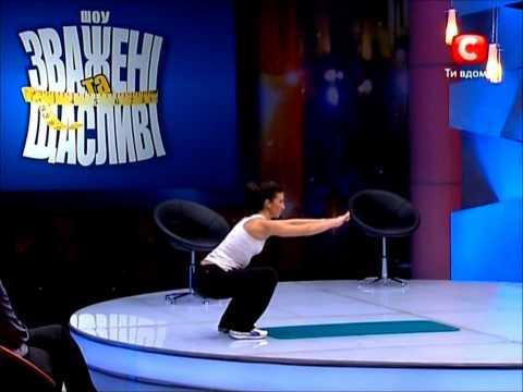 Утренняя гимнастика от Аниты Луценко, планка.wmv
