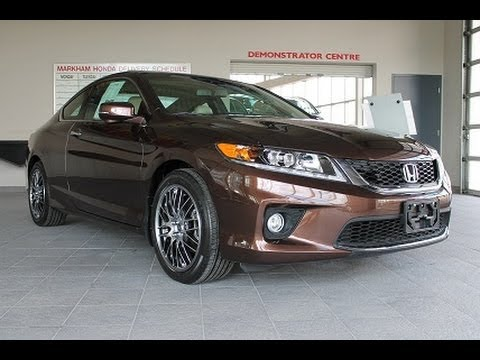 2014 Honda Accord EX-L Coupe Review - YouTube