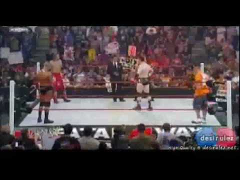 Fatal Four Way 2010 - John Cena vs Sheamus vs Randy Orton vs Edge 1/3 (HQ) Video