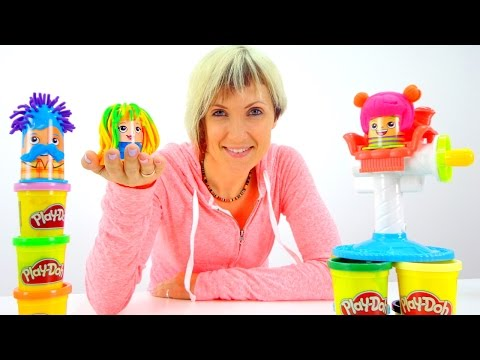 Весёлая Школа с Play Doh - Прически - Мультфильм Грузовичок Лева