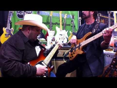 Johnny Hiland Live at NAMM 2012 Playing his Signature Pickups