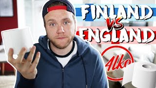 FINLAND VS ENGLAND - Which country is better?