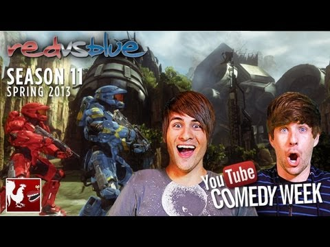 Comedy Week: Red vs. Blue Season 11 Teaser featuring Smosh