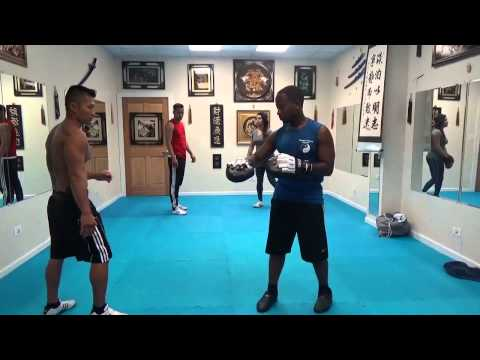 Focus Mitt Kick Punch Training 1 : July 23 2014 Image 1