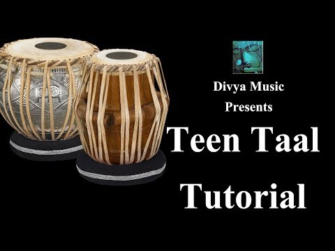 Tabla Lessons Beginners Online Skype Learning Videos How To Play Paran Of Teen Taal Tabla Training video