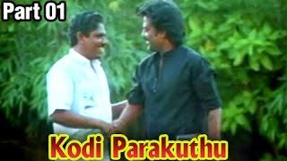 Kodi Parakuthu – 1/12 part - Rajinikanth, Amala - P. Bharathiraja Classic Movie – Full Movie