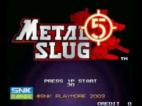 Metal Slug 5 Soundtrack Intrigue